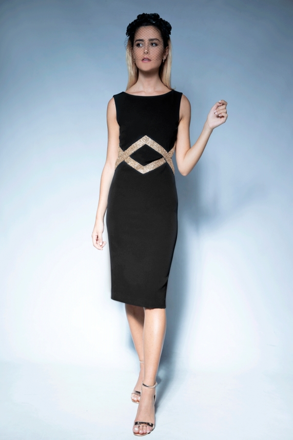 Black evening dress – Miccaela